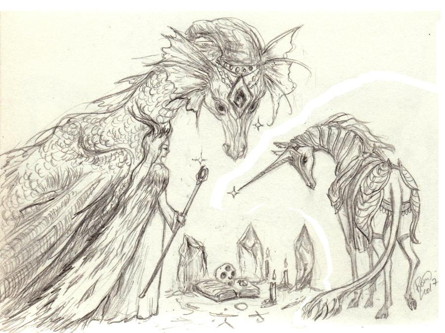 Magical Triad by Kaytara