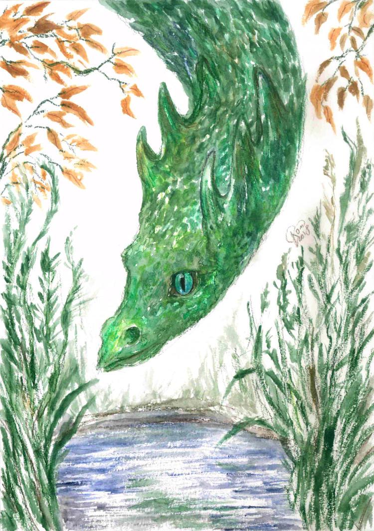 Emerald Dragon by Kaytara