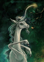 Unicorn With Apple