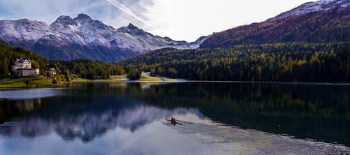 The Lake of  St. Moritz 2012 Oct