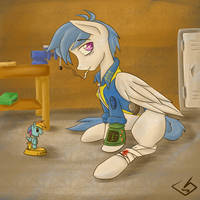 Rough And Tumble Pegasus by billysan727