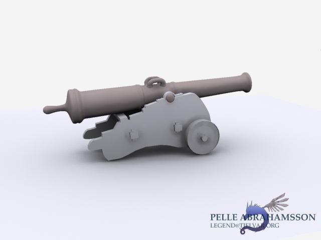 3d cannon by Legendzor