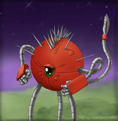Terra strike combat drone by Legendzor