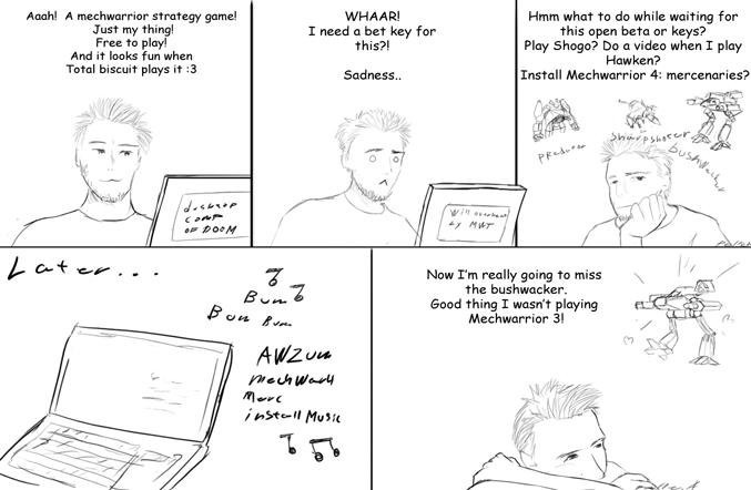 Smal Comic by Legendzor