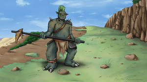 The Ogre by Legendzor