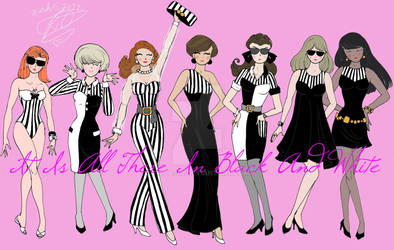 Stripes In Black And White collection