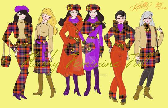 Flashy Femenine Fall Fashions Collection