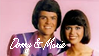 Donny and Marie Osmond stamp by E-Ocasio