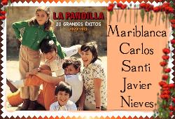 La Pandilla large stamp II by E-Ocasio