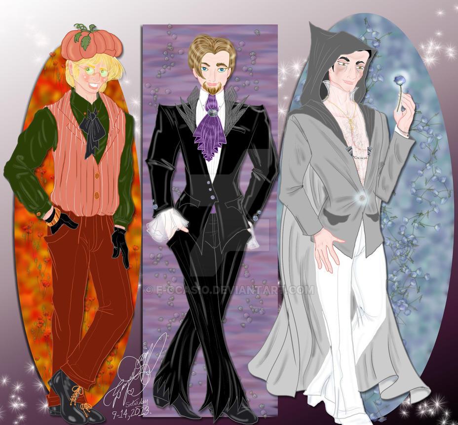 Halloween Menswear by E-Ocasio