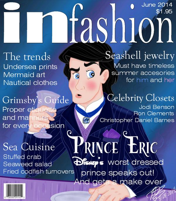 In fashion Disney's Eric by E-Ocasio