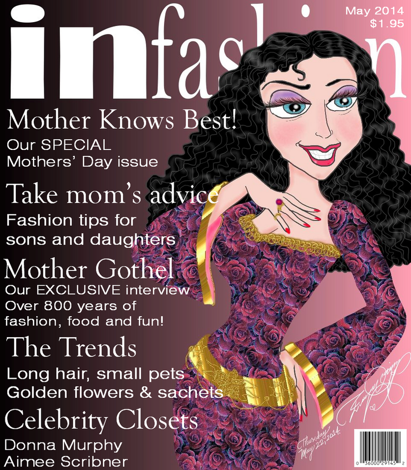 In Fashion magazine Mother Gothel by E-Ocasio