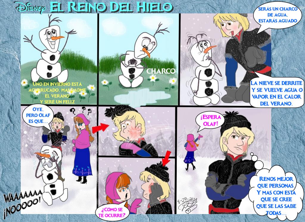 Frozen Olaf Verano In Summer by E-Ocasio
