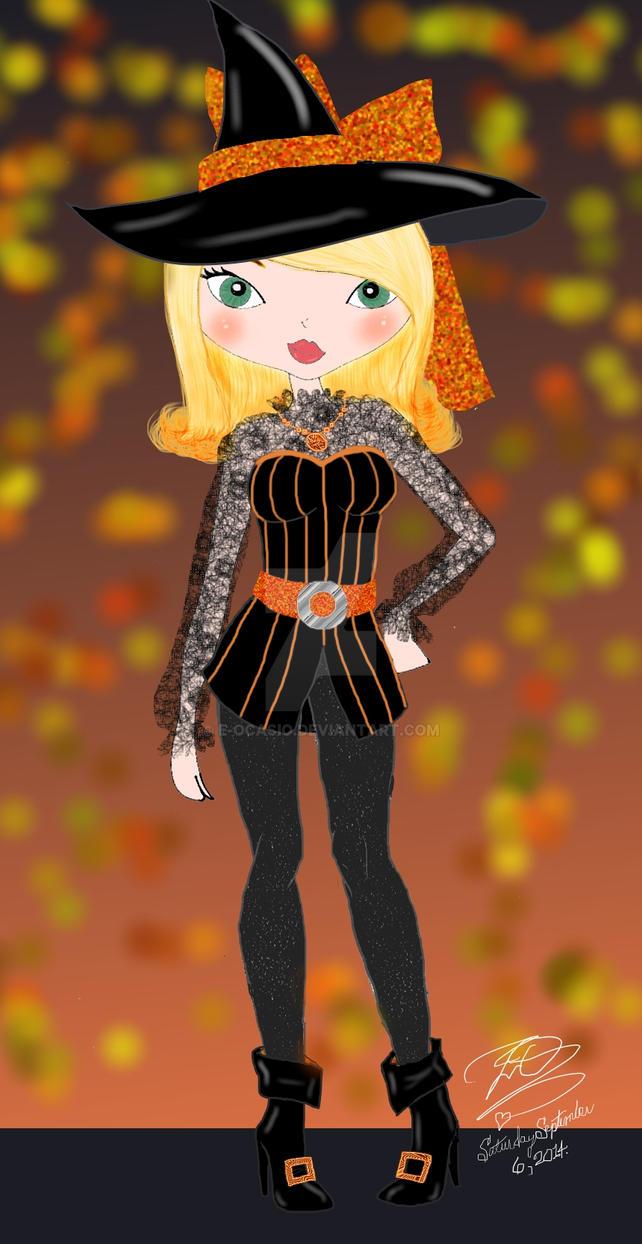 Cute Witch by E-Ocasio