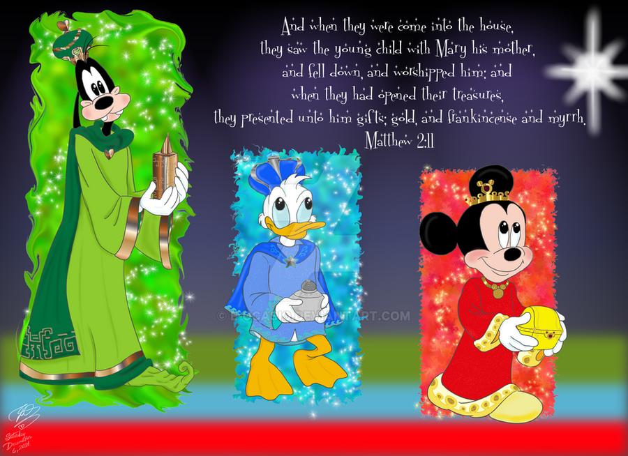 Disney Three Magi by E-Ocasio