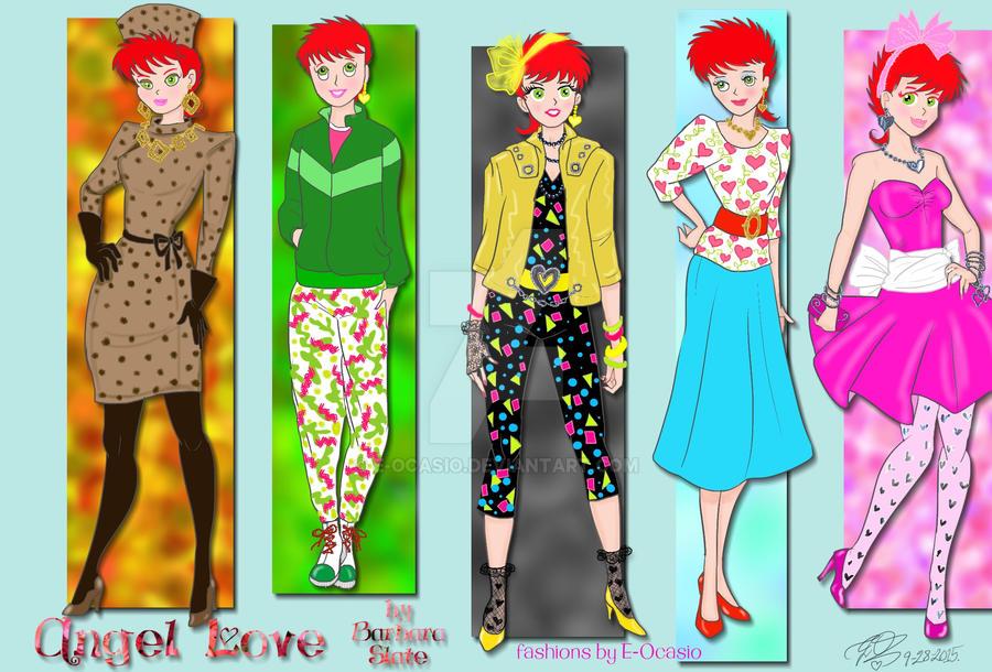 Angel Love 80s Fashion Looks By E Ocasio On Deviantart