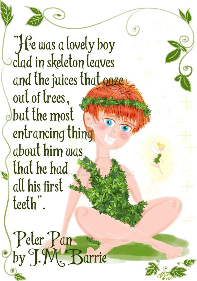 JM Barrie's Peter Pan by E-Ocasio