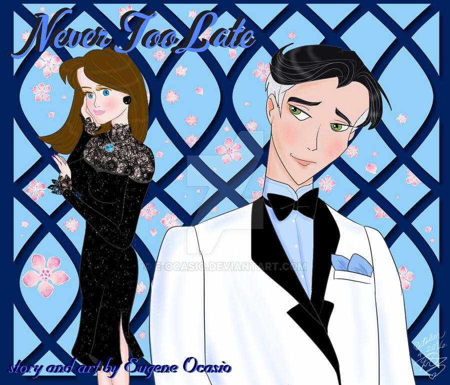 Anime Adult Romance manga concept by E-Ocasio