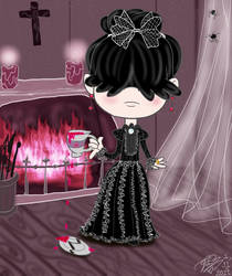 Lucy Loud as Penny Dreadful's Vanesa Ives by E-Ocasio