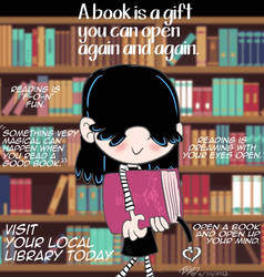 Lucy Loud Reading Is Fun by E-Ocasio