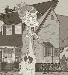 Loud House off character Michelle De Moine by E-Ocasio