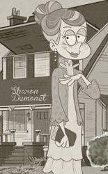 Loud House off character Sharon Demonet