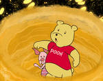 Winnie The Pooh and Piglet trapped in honey whirlp by E-Ocasio