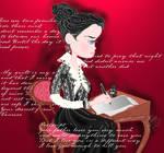 Penny Dreadful Vanessa Ives writes