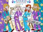 ABBA Thank You For The Music Loud House style