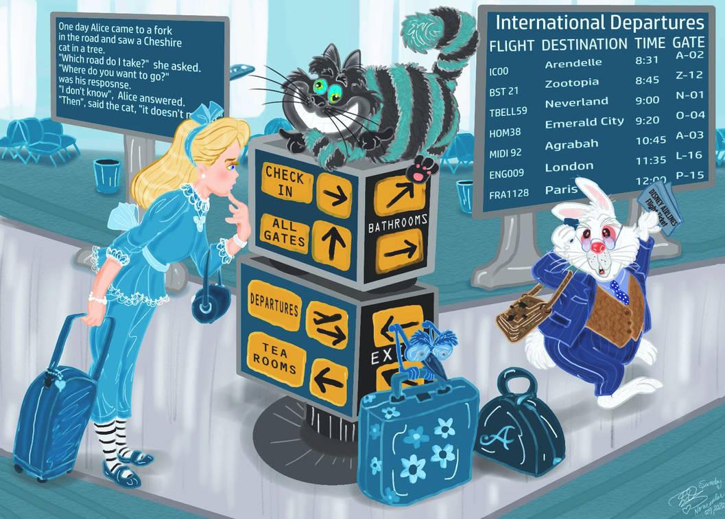 Alice in Underland airport