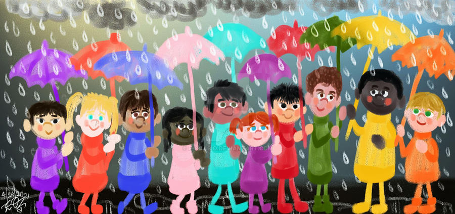 We're All Under The Same Rainy Sky