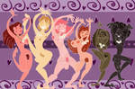 Nude Dance Of Harmony by E-Ocasio