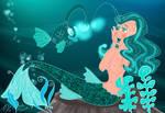 Mermaid Sense Of Wonder by E-Ocasio