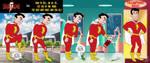 Shazam kills Mr. Mind by E-Ocasio