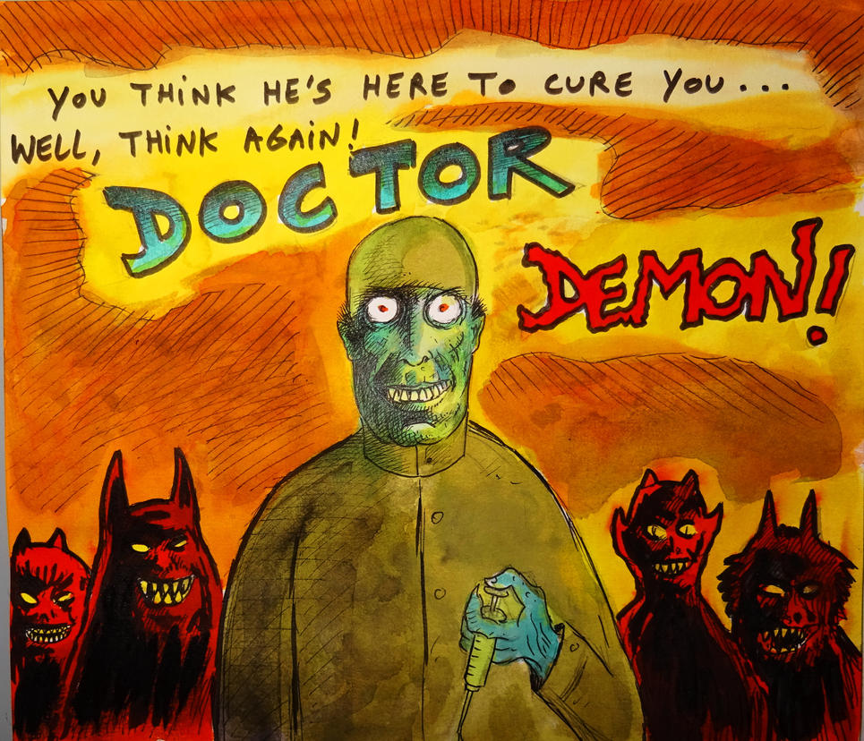 DOCTOR DEMON ! by Glamvampyre