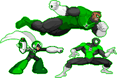 Non DC Green Lanterns by SpiderMew
