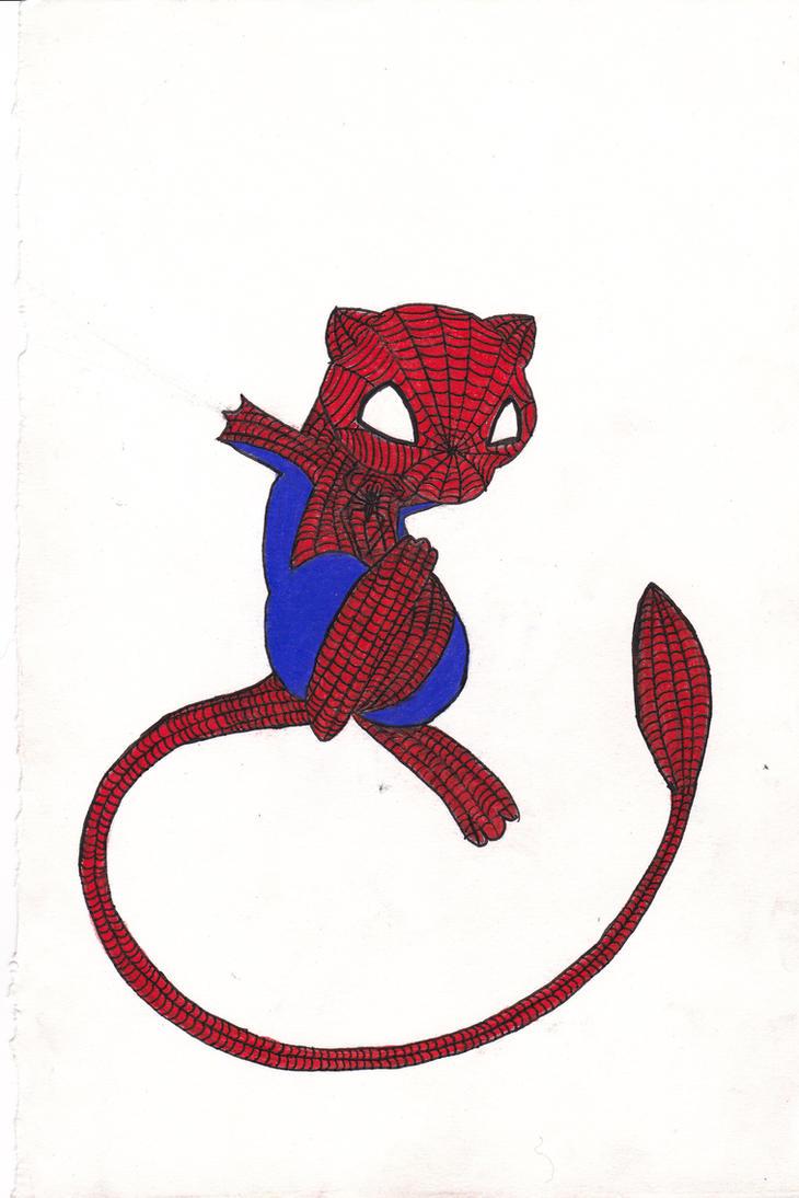 SpiderMew by xxxbattyxxx by SpiderMew