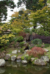 Japanese Garden by Seluias-stock
