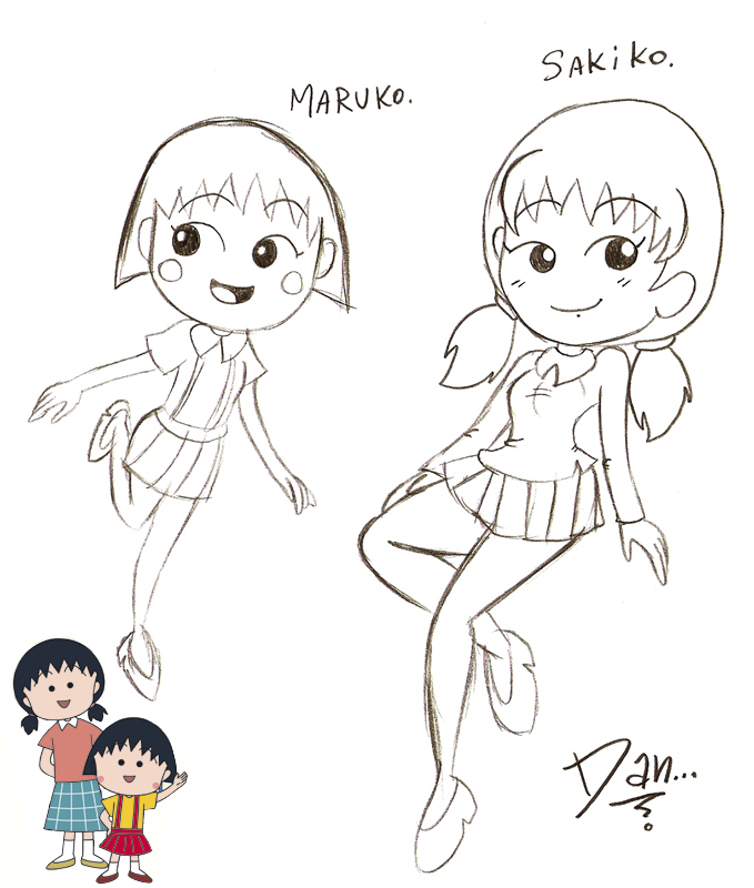 Maruko And Sakiko By DanOblong On DeviantArt