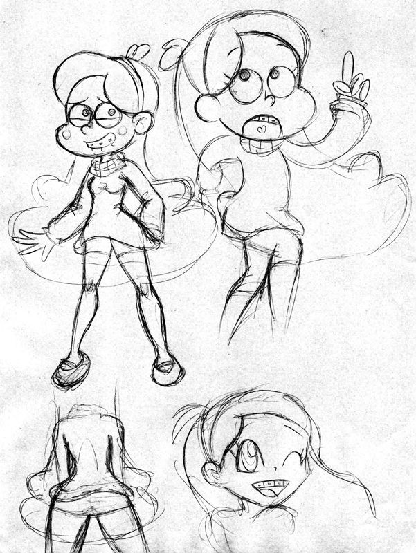 Mabel Pines doodles by AmigoDan