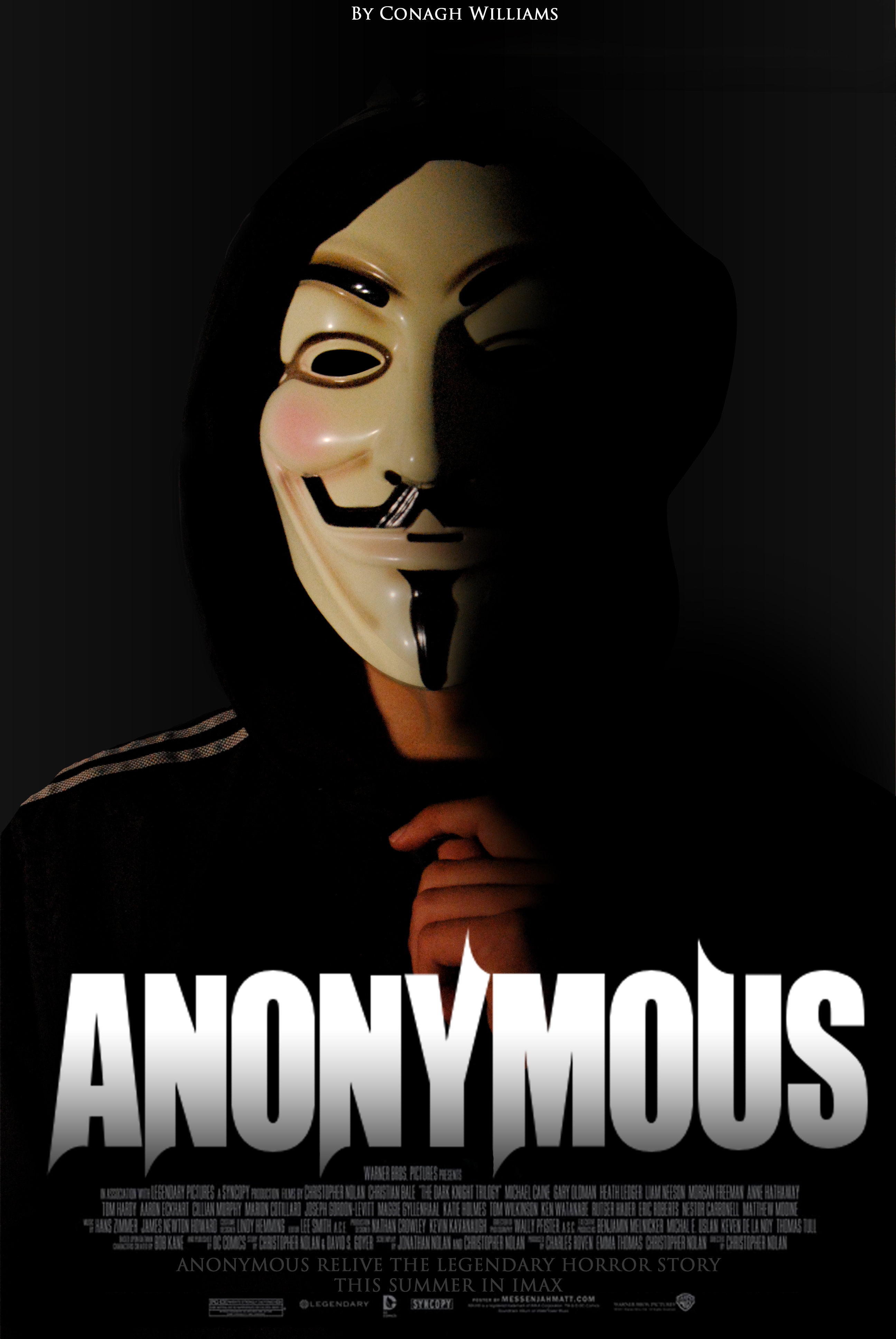 Anonymous Movie Poster by ConaghSubstance on DeviantArt