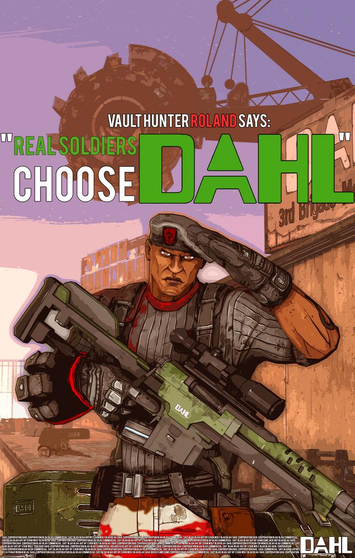 Dahl poster by majorstainwolf on deviantart - Borderlands 3 box art wallpaper ...