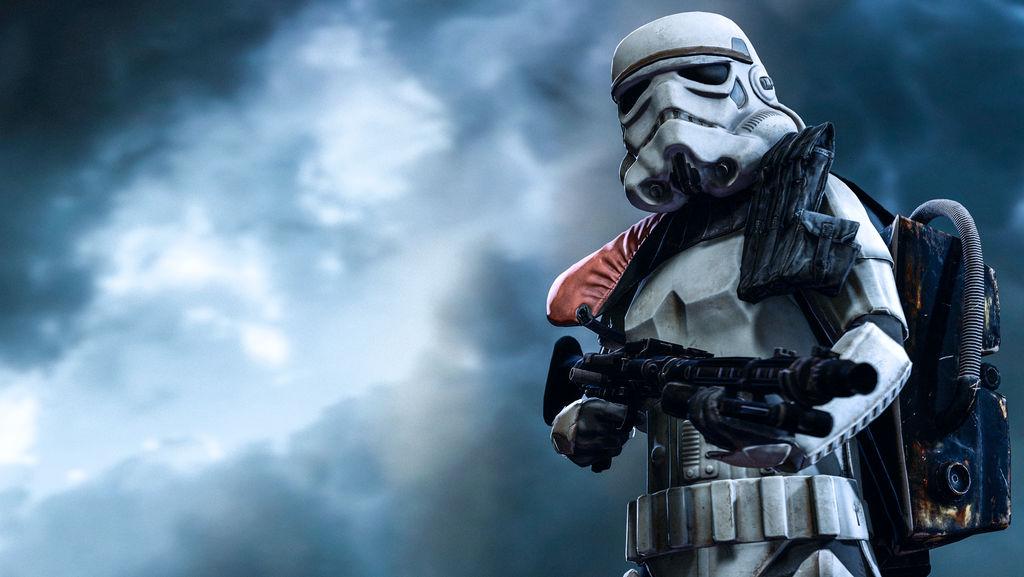 Stormtrooper by MajorStainWolf