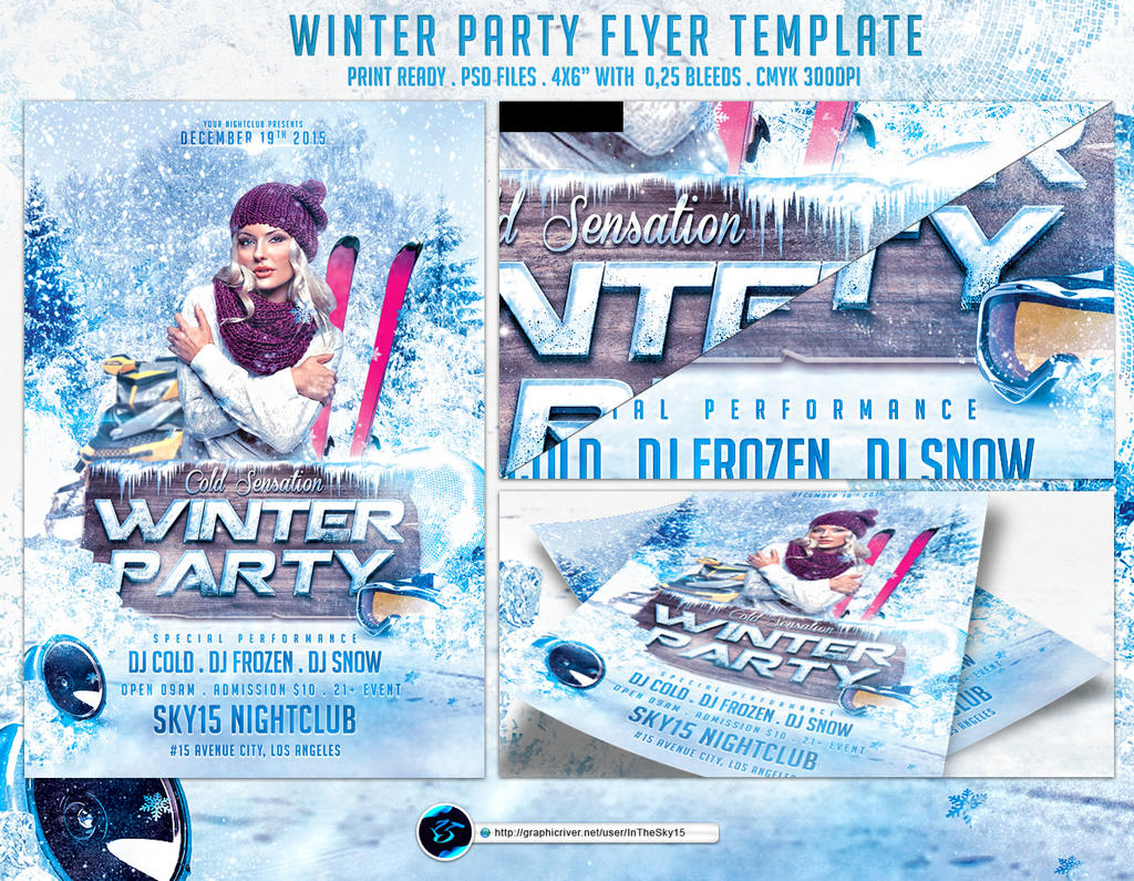 flyers favourites by junkan7 on andydreamm 1 0 winter party flyer template