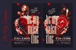 Be My Valentine Flyer by ranvx54