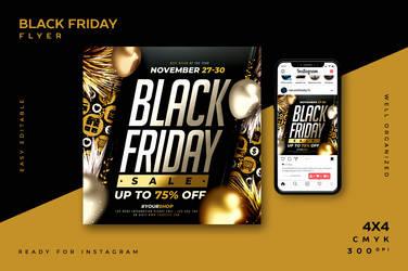 Black Friday Flyer by ranvx54