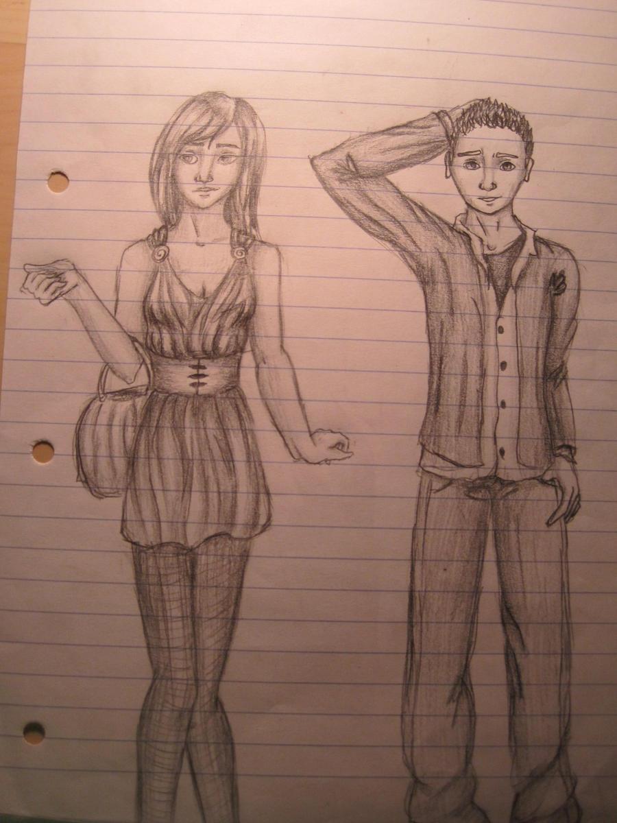 Boredom in class by RavenZee on DeviantArt