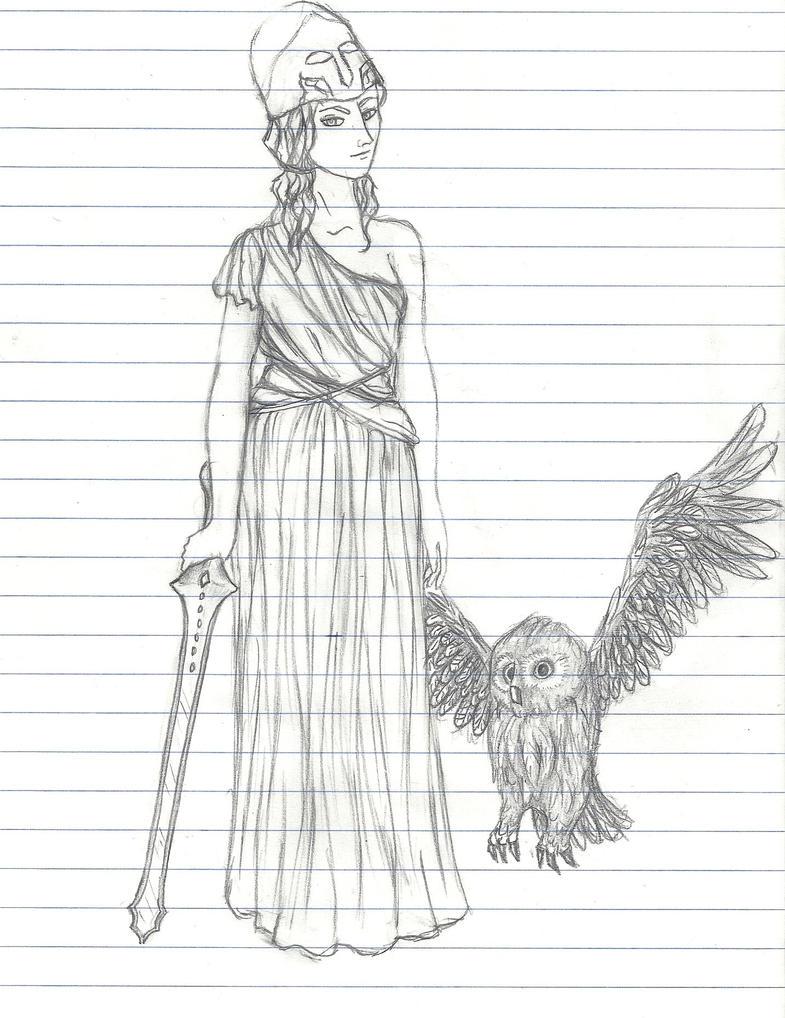 Pallas Athena by RavenZee on DeviantArt