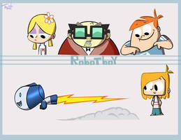 robotboy fanart by TraiN8