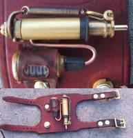 Steampunk Pump Bracelet by Hexonal
